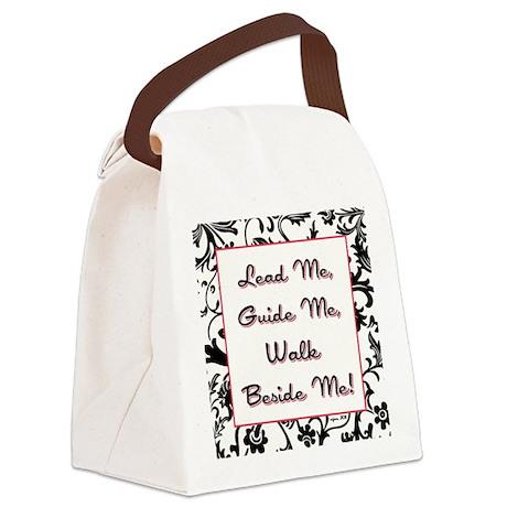 LEAD ME... Canvas Lunch Bag