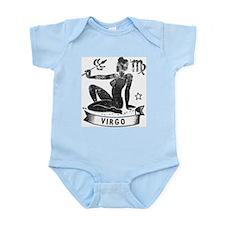 VIRGO Retro Astrology Baby Infant Bodysuit