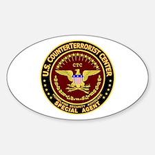 CounterTerrorist Center - CTC Oval Decal