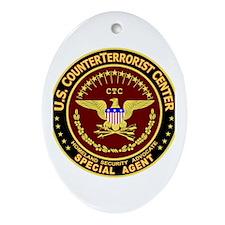 CounterTerrorist Center - CTC Oval Ornament