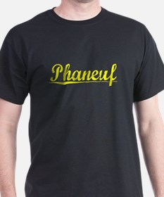 Phaneuf, Yellow T-Shirt