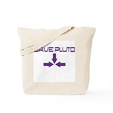 Cool Save pluto Tote Bag