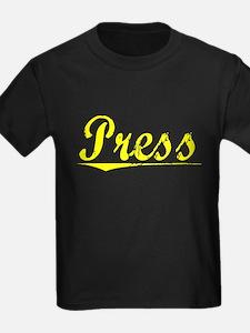 Press, Yellow T