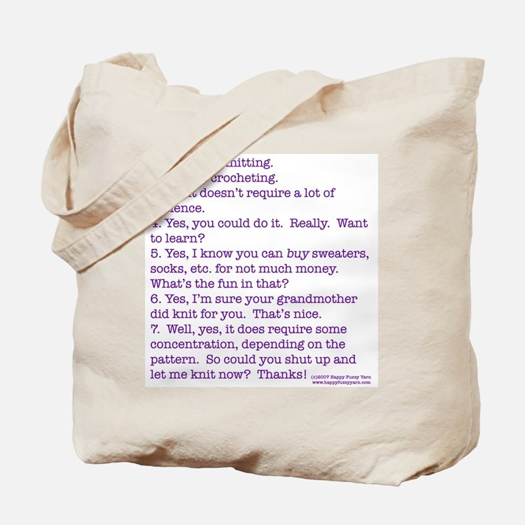 Cute Concentration Tote Bag