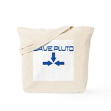 Save pluto Tote Bag