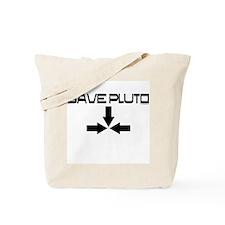 Unique Save pluto Tote Bag