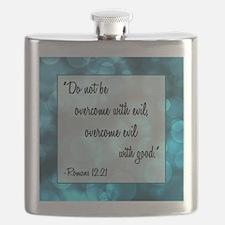 ROMANS 12:21 Flask