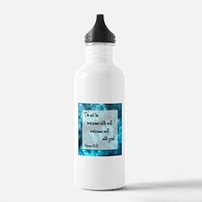 ROMANS 12:21 Water Bottle