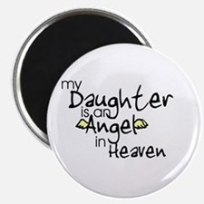 """My daughter is an Angel 2.25"""" Magnet (10 pack)"""