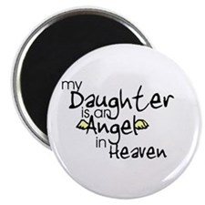 """My daughter is an Angel 2.25"""" Magnet (100 pack)"""