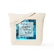 JOSHUA 24:15 Tote Bag