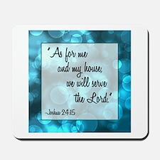 JOSHUA 24:15 Mousepad