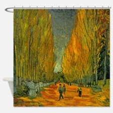 Van Gogh Alyscamps Shower Curtain
