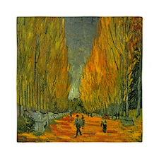 Van Gogh Alyscamps Queen Duvet