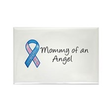 Mommy of an Angel Rectangle Magnet
