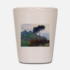 Claude Monet Church at Varengeville Shot Glass