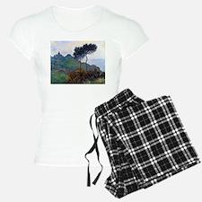 Claude Monet Church at Varengeville Pajamas