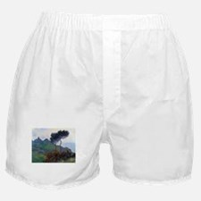 Claude Monet Church at Varengeville Boxer Shorts
