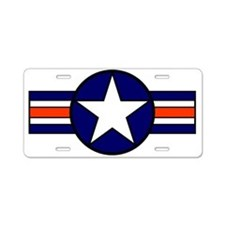 Funny Air force insignia Aluminum License Plate