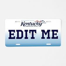 Kentucky - Unbridled spirit license plate replica