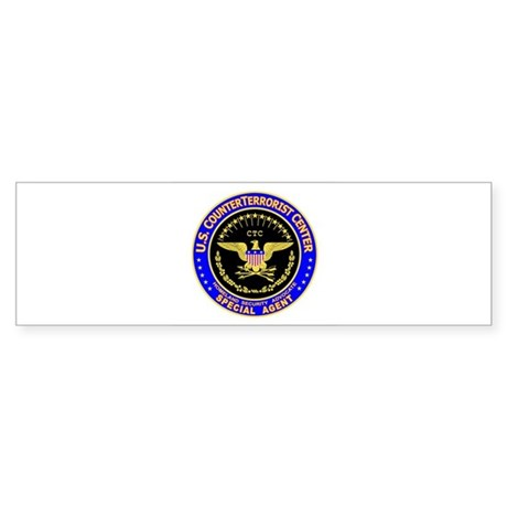 CTC - CounterTerrorist Center Bumper Sticker