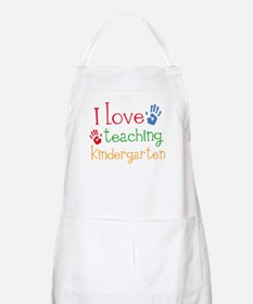 I Love Kindergarten Apron