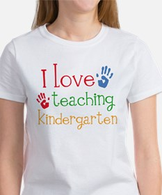 I Love Kindergarten Women's T-Shirt