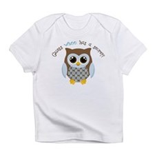 Guess who boy Infant T-Shirt