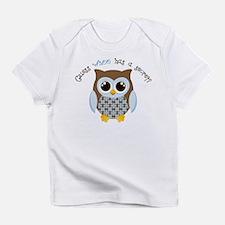 Guess who boy Infant T-Shirt