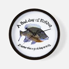 Fish or work Wall Clock