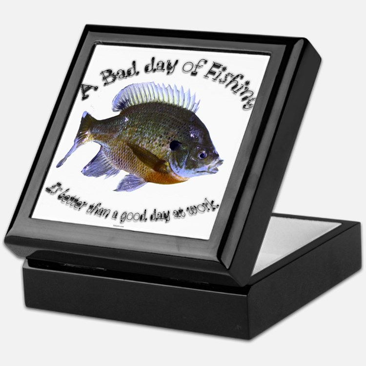 Fish or work Keepsake Box