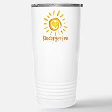 Kindergarten School Sun Stainless Steel Travel Mug