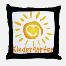 Kindergarten School Sun Throw Pillow