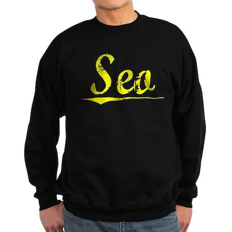 Seo, Yellow Sweatshirt (dark)