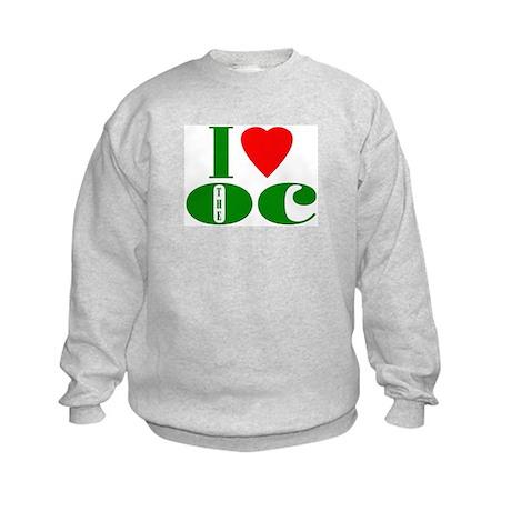 I Love The OC Kids Sweatshirt