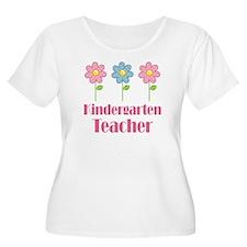 Kindergarten Teacher Daisy T-Shirt