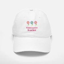 Kindergarten Teacher Daisy Baseball Baseball Cap