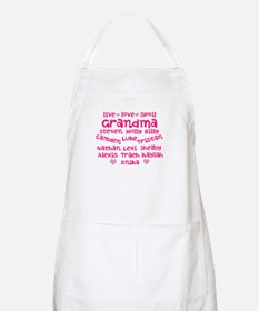Custom grand kids Apron
