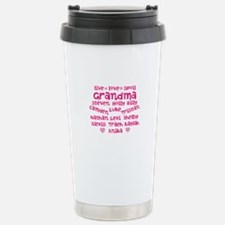 Custom grand kids Stainless Steel Travel Mug