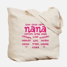 Custom grand kids Tote Bag