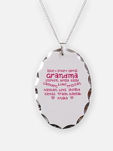 Custom grand kids Necklace