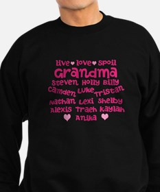 Custom grand kids Sweatshirt (dark)