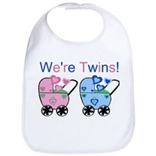 We're Twins! (Girl & Boy) Bib