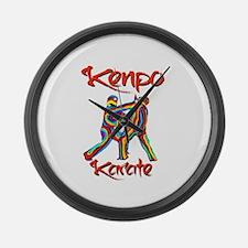 Kenpo Karate Large Wall Clock