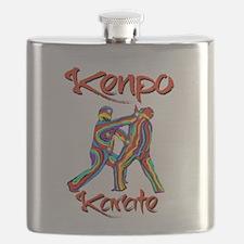 Kenpo Karate Flask
