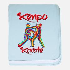 Kenpo Karate baby blanket