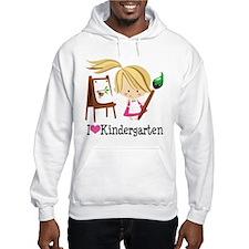 I Heart Kindergarten Hoodie