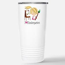I Heart Kindergarten Stainless Steel Travel Mug