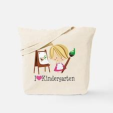 I Heart Kindergarten Tote Bag