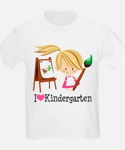 I Heart Kindergarten T-Shirt